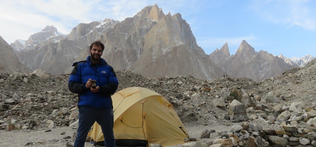 We arrived at the K2 mountain