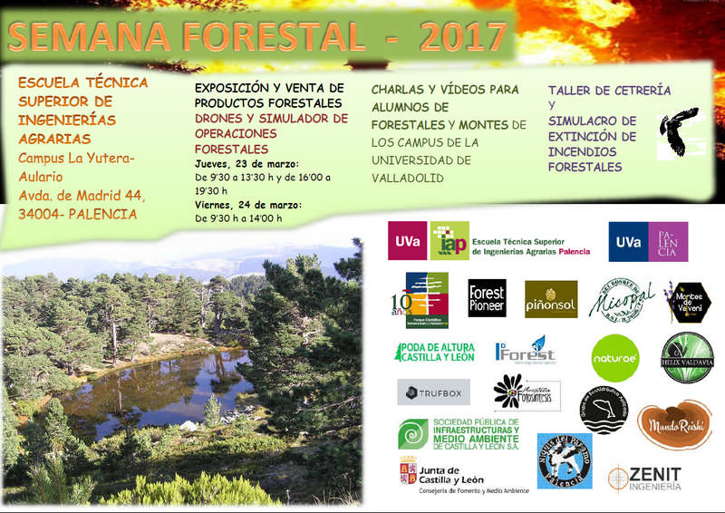Conference on medicinal mushrooms, Forestry Week in the University of Valladolid.
