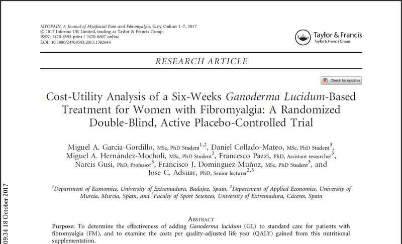 2017 cost utility ganoderma