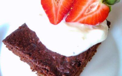 Receta de Brownies con reishi