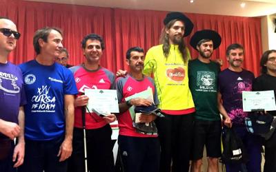Óscar Santos, campeón MundoReishi en la maratón Behobia-San Sebastián