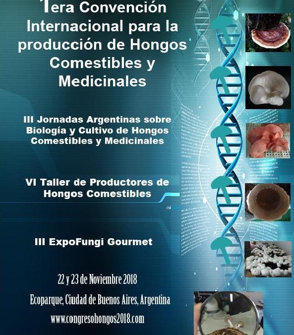 Mundoreishi en la 1ªConvención Internacional para la producción de Hongos Comestibles y Medicinales