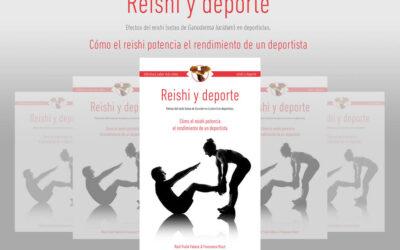 """Durante el periodo de aislamiento en casa te regalamos nuestro libro """"Reishi y deporte"""""""